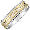 Design Band Style: B. 03-702-WCYGW 7mm