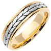 Wedding Band Style: 0339YCW-5mm
