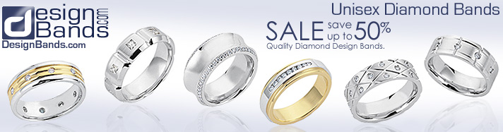 Wedding Jewelry. Designer Wedding Rings and Designer Wedding Bands. Visit Designbands.com Homepage.