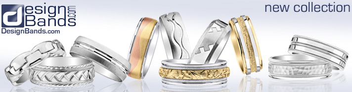 Men's Wedding Rings - Design Bands.